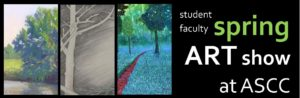 Student Faculty Art Show May 2016 header