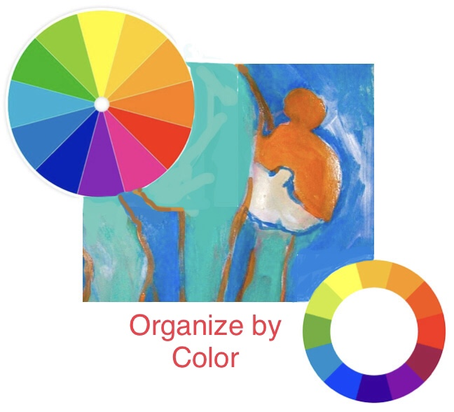 Organize By Color with Maj Kalfus