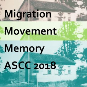 Migration Movement Memory 2018 Poster