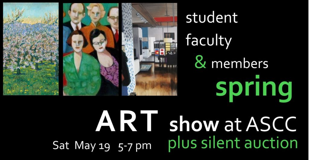 Student Faculty Art Show May & Silent Auction 2018 header